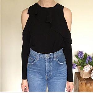 Top shop open shoulder